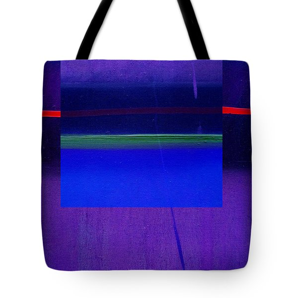 Bluescape Tote Bag by Charles Stuart