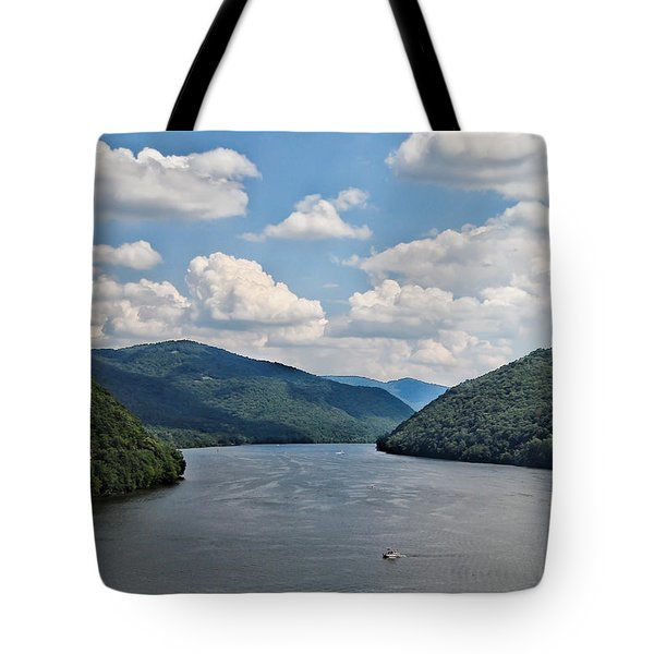 Bluestone Lake - Hinton West Virginia Tote Bag