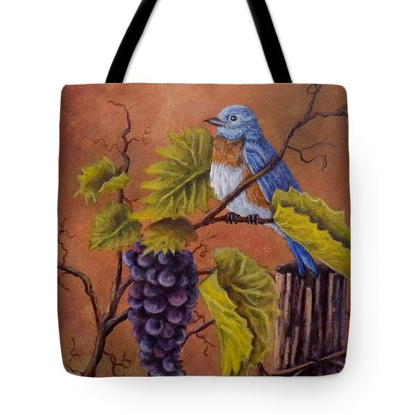 Bluey And The Grape Vine Tote Bag
