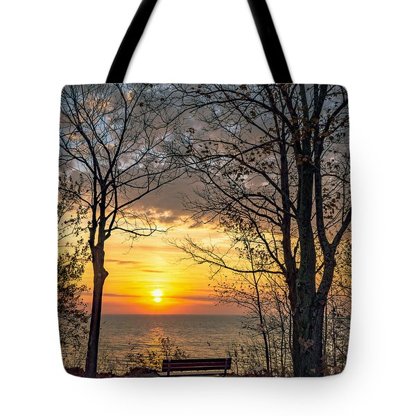 Bluff Bench Tote Bag