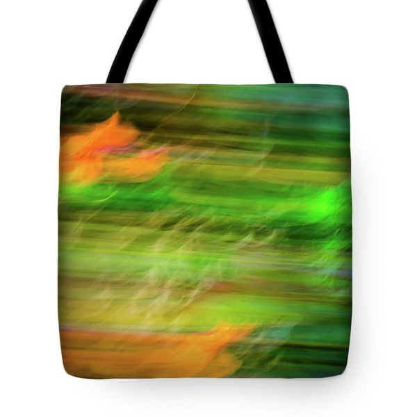 Blurred #11 Tote Bag