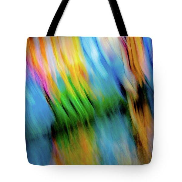 Blurred #5 Tote Bag