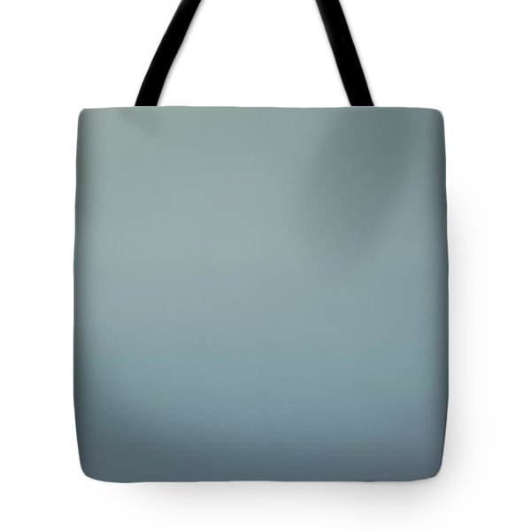 Blurred Abstract Blue Background Tote Bag