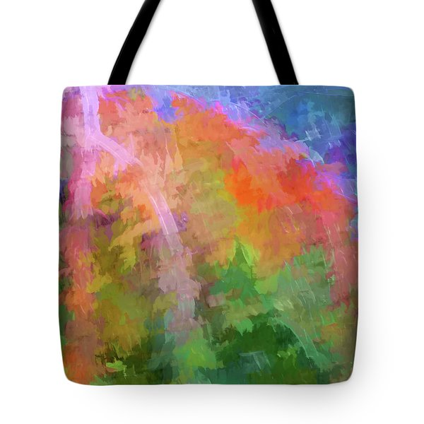 Blurry Painting Tote Bag