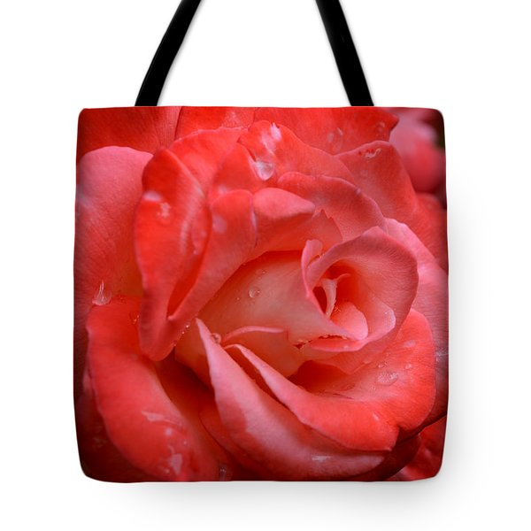 Blush After The Rain Tote Bag