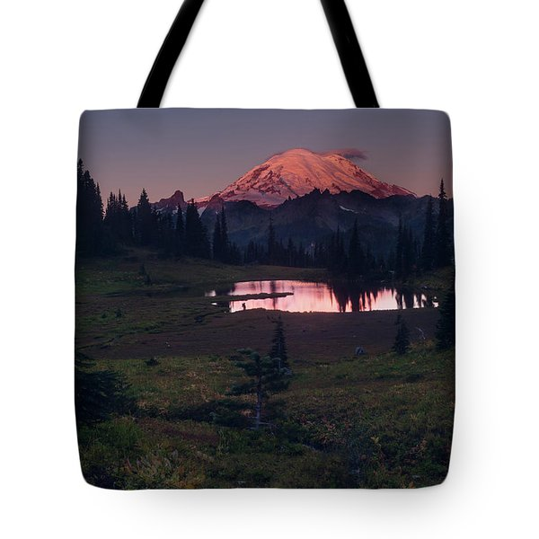 Morning Blush Tote Bag