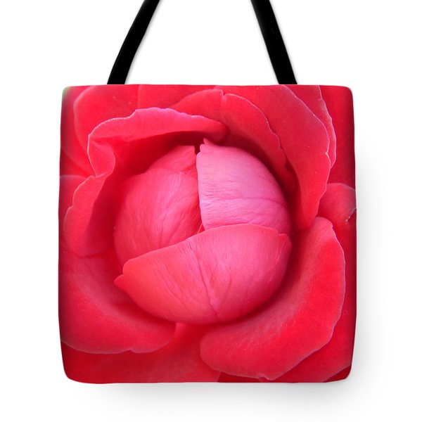 Blush Lettuce Rose Tote Bag