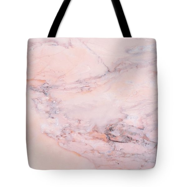 Blush Marble Tote Bag