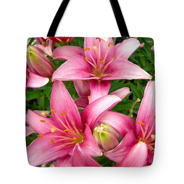 Blush Of The Blossoms Tote Bag