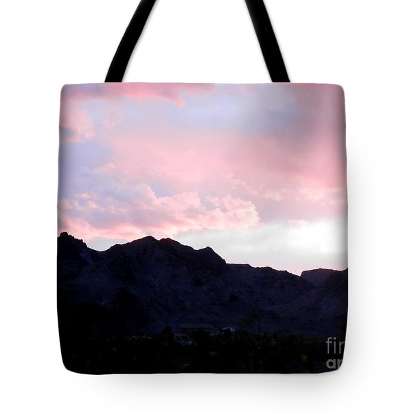 Blushed Moments Tote Bag