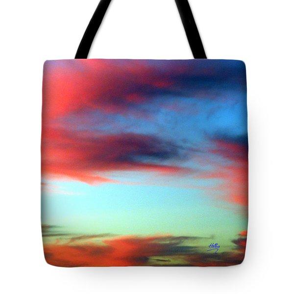 Blushed Sky Tote Bag