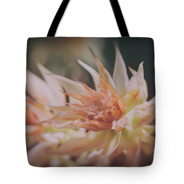 Tote Bag featuring the photograph Blushing Bride by Linda Lees
