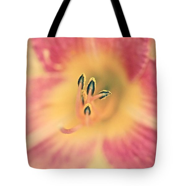 Blushing Lily Tote Bag