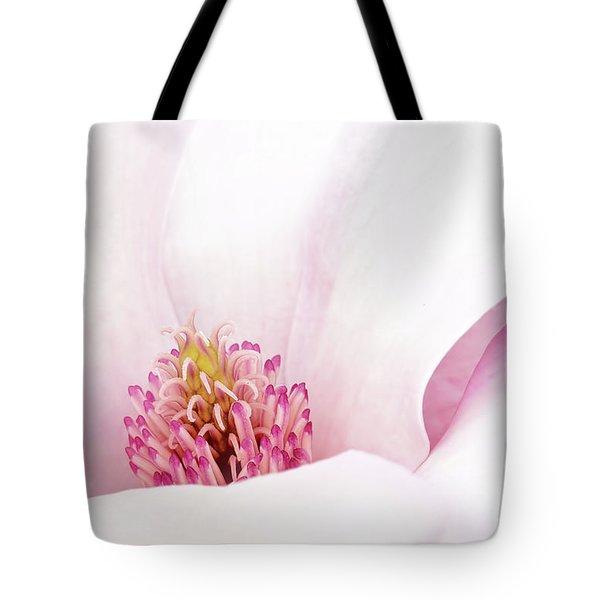 Blushing Magnolia Tote Bag