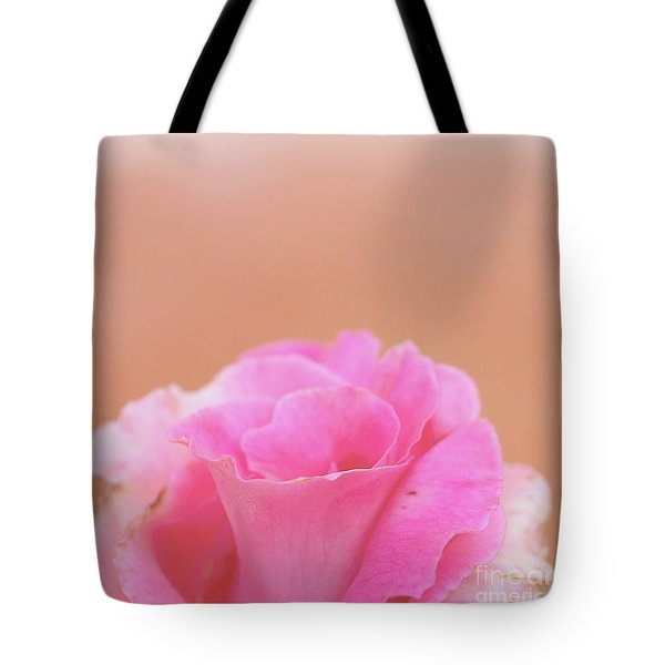 Tote Bag featuring the photograph Blushing Rose by Cindy Garber Iverson