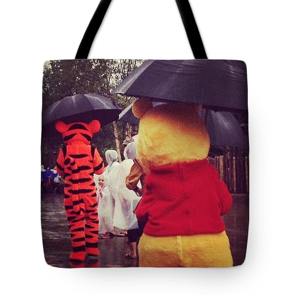 A Very Blustery Day Tote Bag
