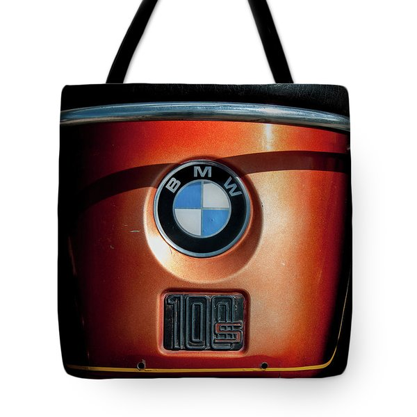 Tote Bag featuring the photograph Bmw 100 S by Britt Runyon