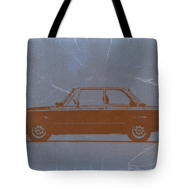 Bmw 2002 Orange Tote Bag