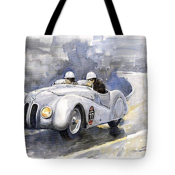 Bmw 328 Roadster Tote Bag