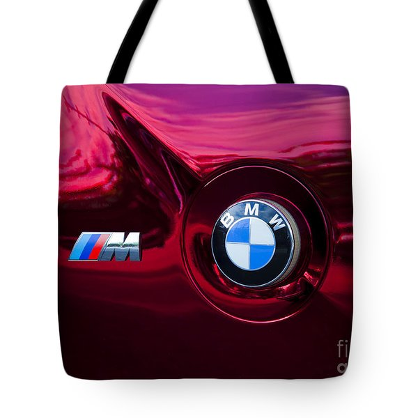Bmw M3 Badges Tote Bag