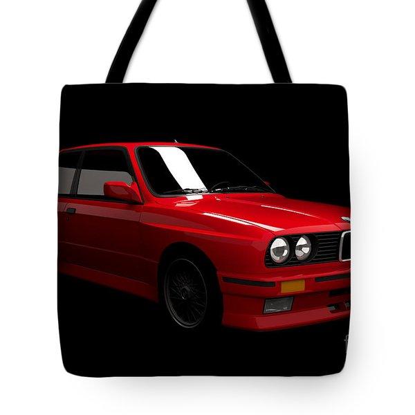 Bmw M3 E30 Tote Bag