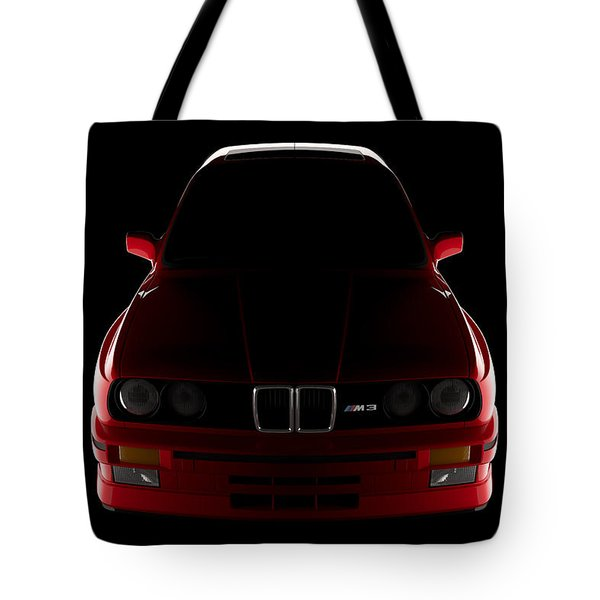 Bmw M3 E30 - Front View Tote Bag