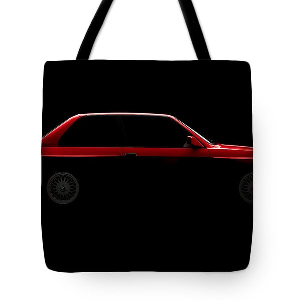 Bmw M3 E30 - Side View Tote Bag