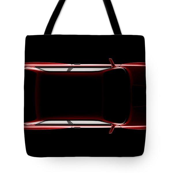 Bmw M3 E30 - Top View Tote Bag