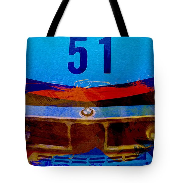 Bmw Racing Colors Tote Bag