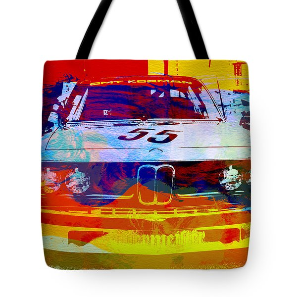Bmw Racing Tote Bag