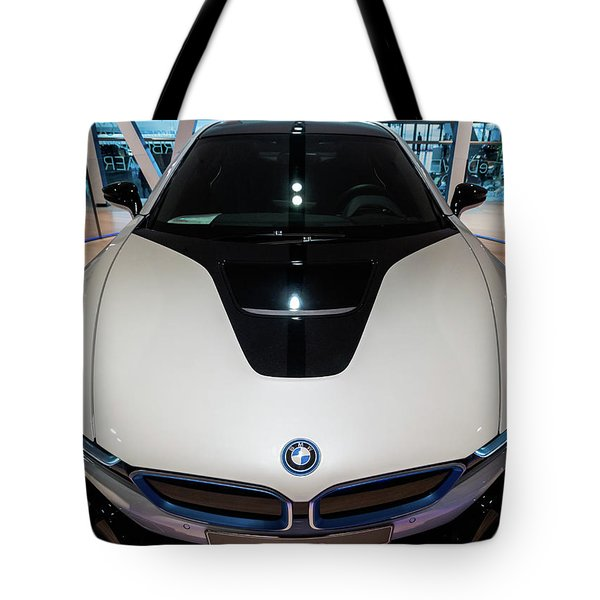 BMW Tote Bag by Sergey Simanovsky