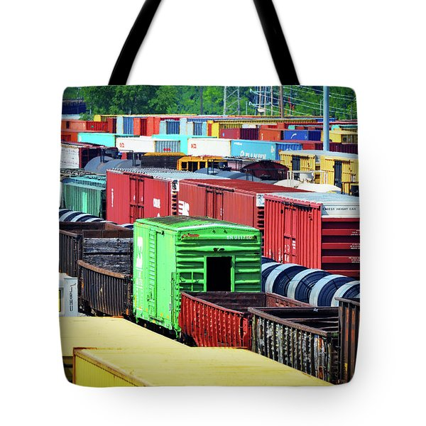 Bnsf Lindenwood Yard Tote Bag