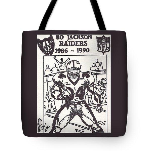 Bo Jackson 1 Tote Bag