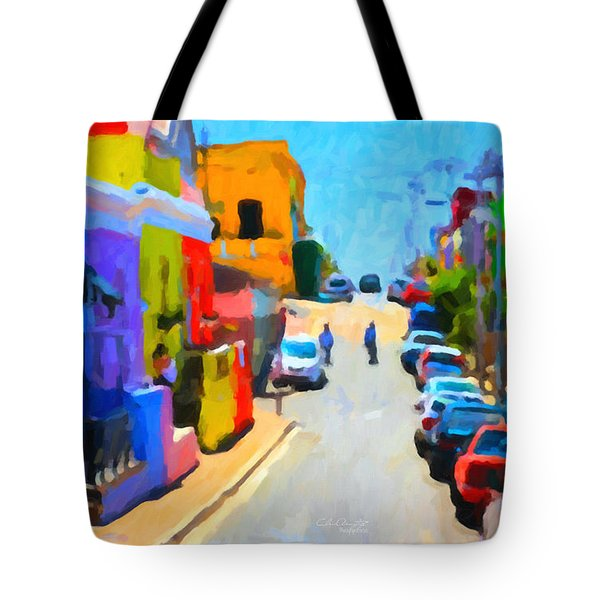 Bo-kaap Tote Bag by Chris Armytage