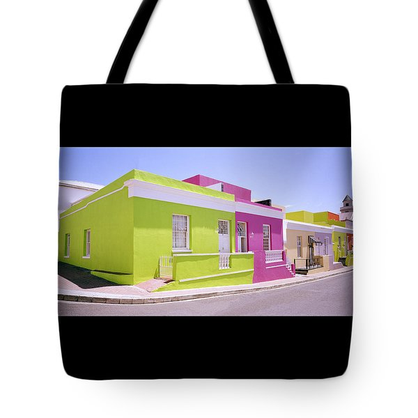 Bo Kaap Color Tote Bag by Shaun Higson