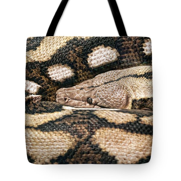 Boa Constrictor Tote Bag by Tom Mc Nemar