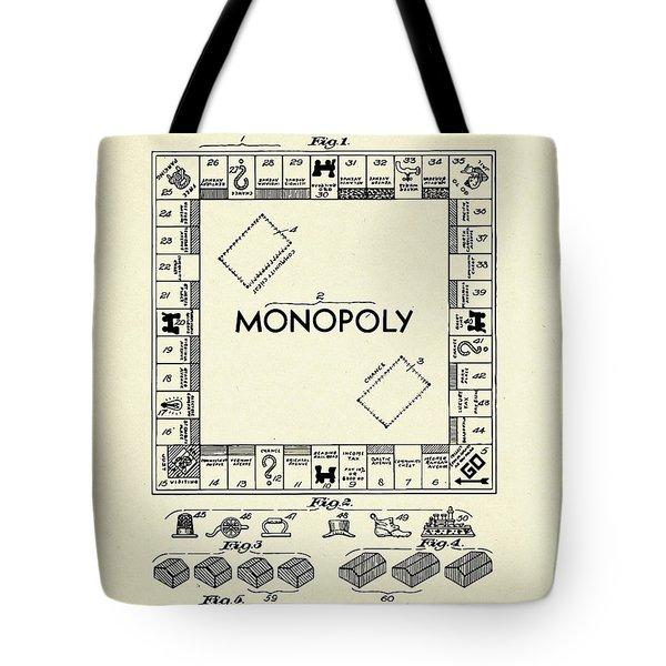 Board Game Apparatus-1935 Tote Bag