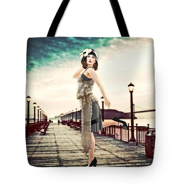 Boardwalk 1920 Tote Bag