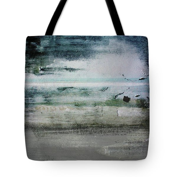 Boardwalk Blues 2- Art By Linda Woods Tote Bag by Linda Woods