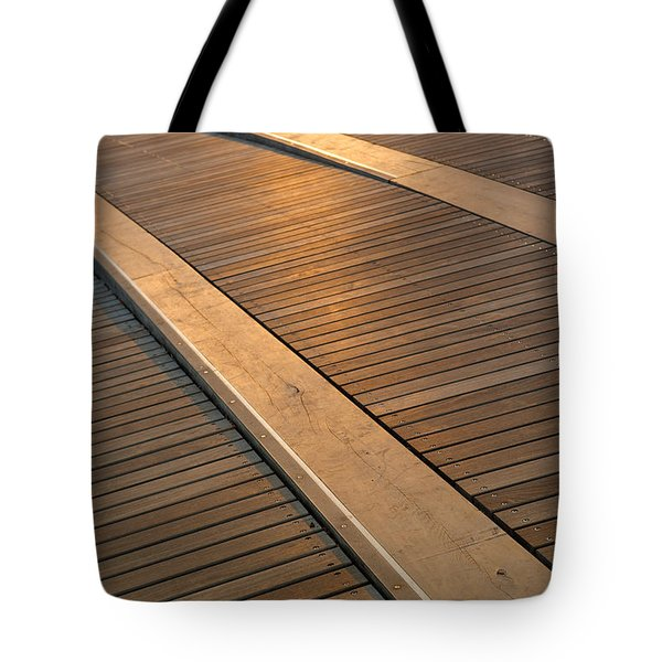 Boardwalk Tote Bag by Sebastian Musial