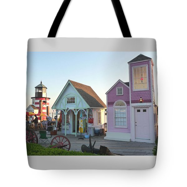 Boardwalk Vendors Tote Bag