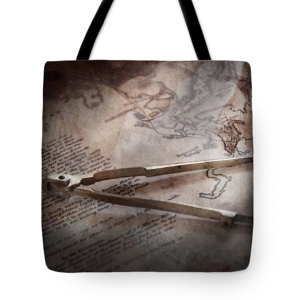 Boat - Sailor - We Are Ready To Sail  Tote Bag by Mike Savad