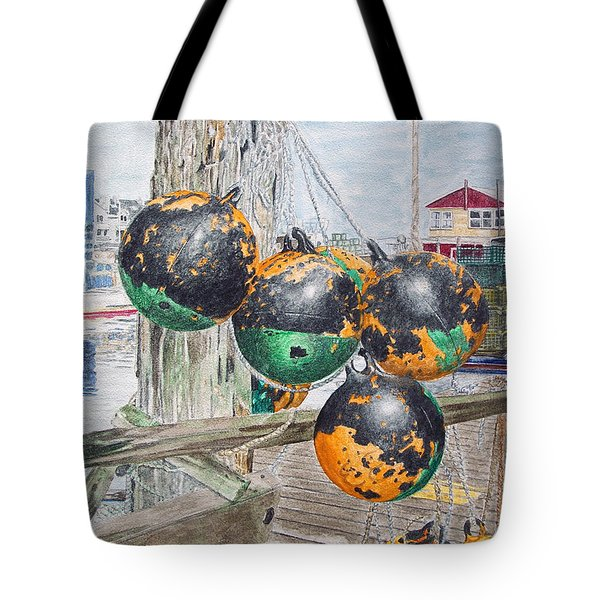 Boat Bumpers Tote Bag