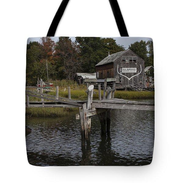 Boat House Tote Bag