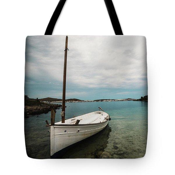 Boat Iv Tote Bag