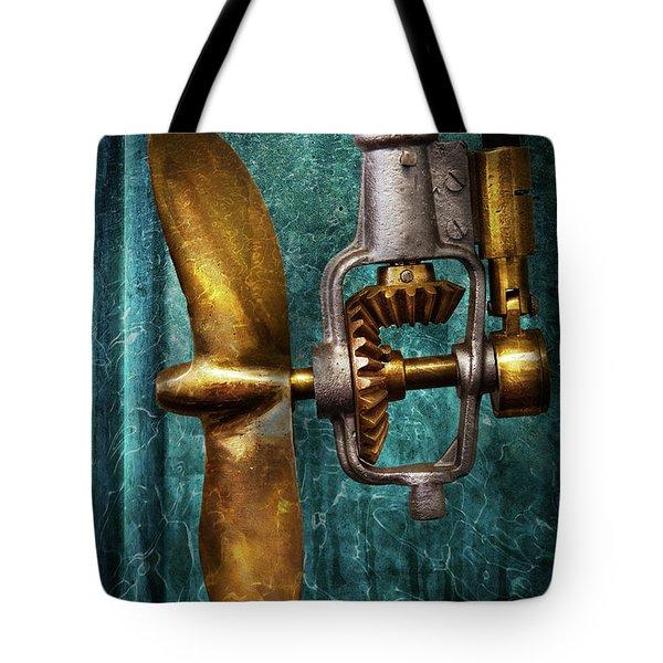 Boat - Propulsion  Tote Bag