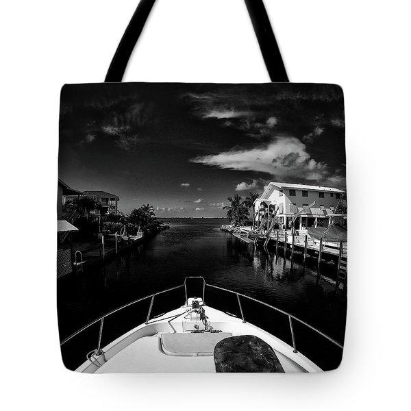 Boat Ride Tote Bag