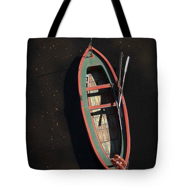 Boat Tote Bag by Silvia Bruno