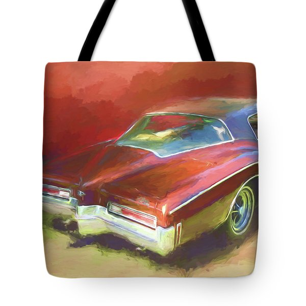 Boat Tail Buick Tote Bag