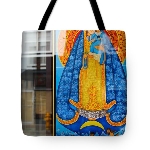 Boat Under Mary Tote Bag
